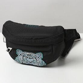 【500円OFFクーポン対象!11月1日限定】KENZO ケンゾー 5SF305 F20 99E タイガー刺繍 ボディバッグ ウエストポーチ ベルトバッグ 鞄 メンズ