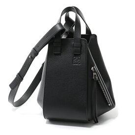 LOEWE ロエベ 387.30.S35 HAMMOCK SMALL BAG ハンモック スモール トート ショルダーバッグ カラー1100/NEGRO-BLACK