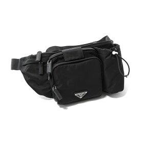 PRADA プラダ 2VL056 973 F0002 BELT BAG ベルトバッグ NERO/メンズ
