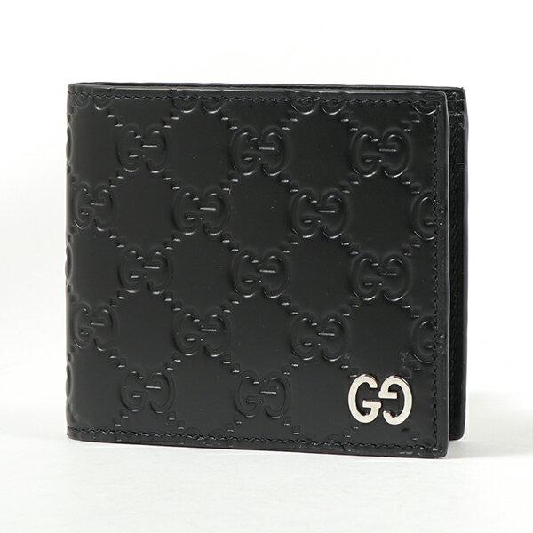 GUCCI グッチ 473922 CWC1N DORIAN 二つ折り財布 GGロゴ 1000 メンズ