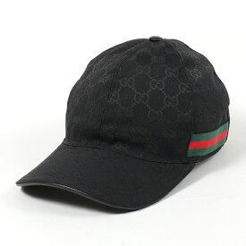 GUCCI グッチ 200035 KQWBG オリジナルGGキャンバス ベースボールキャップ 帽子 ウェブライン 1060 メンズ