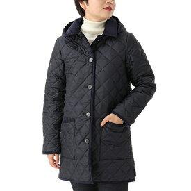 Traditional Weatherwear トラディショナルウェザーウェア LDS WAVERLY HOOD QO0899-QOP7193 ナイロン キルティング ジャケット フード付き コート TJ03-LC05/NVNV レディース