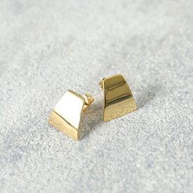 SOKO ソコ BRASS JE174219 BR0 mini canvas stud スタッド ピアス アクセサリー ゴールド