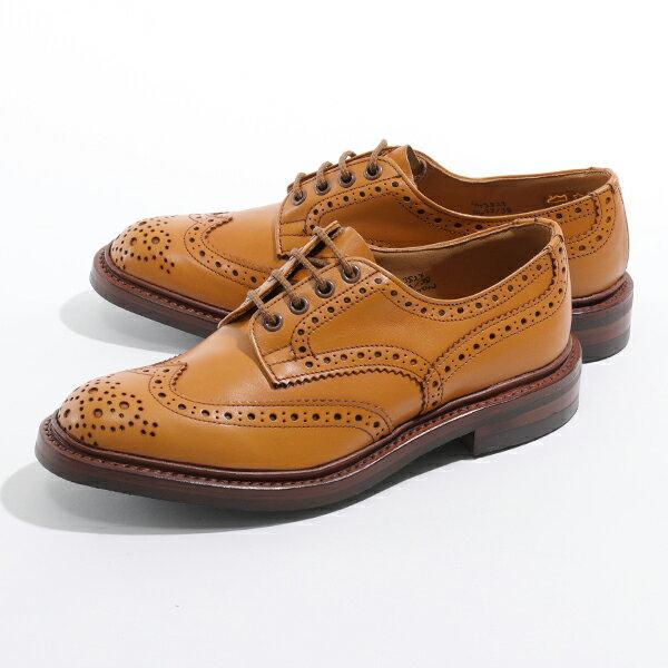 Tricker's トリッカーズ BOURTON 5633/38 ANTIQUE DAINITE SOLE 5 FIT バートン オックスフォード 革靴 レザーシューズ ACORN メンズ
