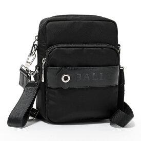 BALLY バリー SKYLLER 10 ナイロン クロスボディバッグ ショルダーバッグ メッセンジャーバッグ BLACK 鞄 メンズ