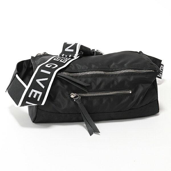GIVENCHY ジバンシィ BK500PK0AX 001 PANDORA BUM BAG ナイロン パンドラ バムバッグ ボディバッグ ショルダーバッグ BLACK メンズ