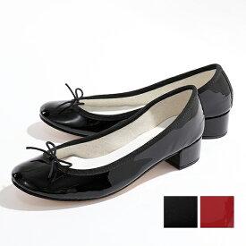repetto レペット V511V カラー2色 BALLERINE CAMILLE カミーユ パテントレザー バレエシューズ パンプス 3.0cmヒール 靴 レディース