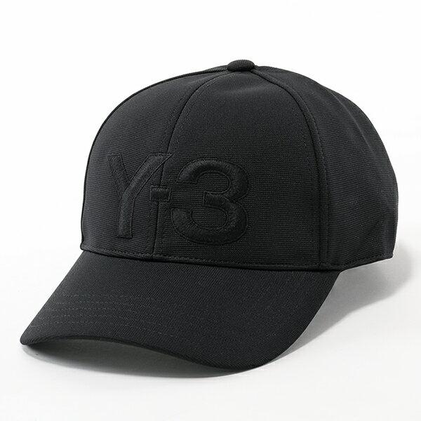Y-3 ワイスリー adidas アディダス YOHJI YAMAMOTO コラボ DY9346 LOGO CAP ベースボールキャップ 帽子 BLACK/NOIR メンズ