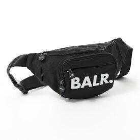 BALR. ボーラー U-Series Waist pack ナイロン ボディバッグ ウエストポーチ ベルトバッグ Black 鞄 メンズ