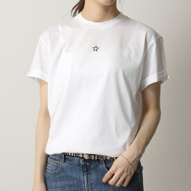 STELLA McCARTNEY ステラマッカートニー 457142 SIW20 クルーネック 半袖 Tシャツ カットソー カラー2色 レディース