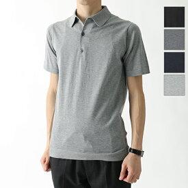 JOHN SMEDLEY ジョンスメドレー MYCROFT STANDARD FIT 半袖 ニット セーター ポロシャツ コットンニット カラー4色 メンズ