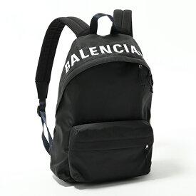 BALENCIAGA バレンシアガ 507460 9F91X 1090 ウィール バックパック デイパック ロゴ刺繍 1090 ユニセックス メンズ