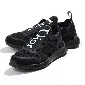 Dior Homme ディオールオム 3SN243YJC 960 メッシュ シューズ ローカット スニーカー スリッポン Black-White 靴 メンズ