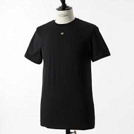 Dior Homme ディオールオム 733J603O0446 908 981 TSHIRT MC COLR B A BEILL 刺繍 クルーネック 半袖 Tシャツ カットソー Noir メンズ