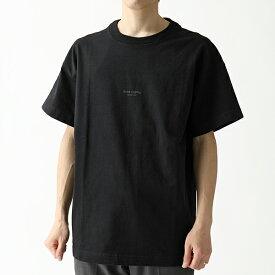 Acne Studios アクネ ストゥディオズ BL0006 183102 JAXON T-SHIRTS オーバーサイズ 半袖 Tシャツ カットソー Black メンズ