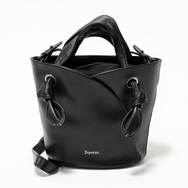 dd285a3e3d05 repetto レペット M0513JOLI Reverence Bag Small Size レザー ハンドバッグ ショルダーバッグ  410/Noir レディース