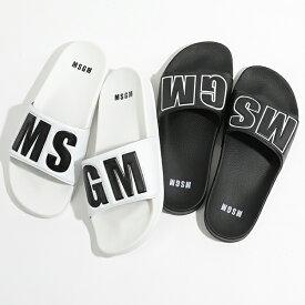 MSGM エムエスジーエム 2640 MS15100 300 カラー2色 シャワーサンダル スポーツ ラバーサンダル スポサン 靴 メンズ