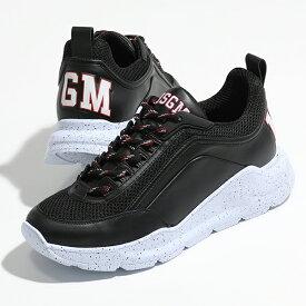 MSGM エムエスジーエム 2640 MS211 130 99 COLLEGE HIKING TRAINERS メッシュ シューズ ファブリック スニーカー 99 靴 メンズ