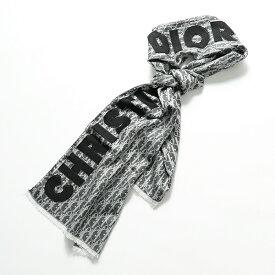 Dior ディオール 92E0013A 0080 Dior Obliqueモチーフ ロゴ ウール シルク ストール ショール ユニセックス