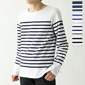 SAINTJAMES セントジェームス NAVAL ナバル 長袖Tシャツ ロンT ロング カットソー ボーダー カラー4色 メンズ
