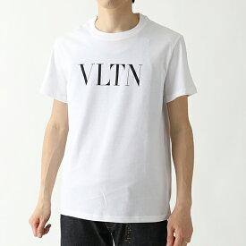 VALENTINO ヴァレンティノ SV3MG10V3LE クルーネック 半袖 Tシャツ カットソー A01/BIANCO メンズ