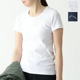 SAINTJAMES セントジェームス AJACCIO 2 ロゴ 半袖Tシャツ カットソー カラー2色 レディース