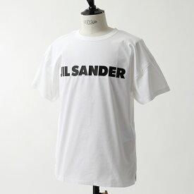 JILSANDER ジルサンダー JSU0705060 MO247608A オーバーサイズ 半袖 Tシャツ カットソー クルーネック カットオフ 100 メンズ