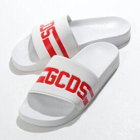 GCDS ジーシーディーエス CC94U010216 01 シャワーサンダル スポーツ サンダル スポサン コンフォート シューズ WHITE メンズ