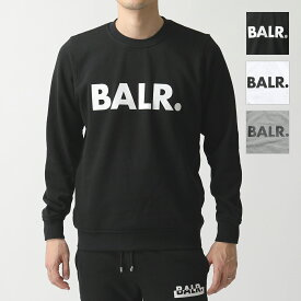 【エントリーでポイント最大12倍!15日21時〜23時59まで】BALR. ボーラー Brand Crew Neck Sweater 長袖 クルーネック スウェット トレーナー カラー4色 メンズ