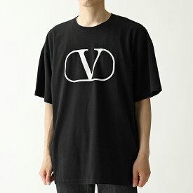 VALENTINO ヴァレンティノ RV0MG0 1PPMA クルーネック オーバーサイズ 半袖 Tシャツ 0NI メンズ