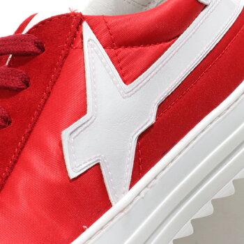 【エントリーでポイント最大18倍!3月1日限定】W6YZウィズ2013805011H09FIRE-MコンビローカットスニーカーシューズROSSO-BIANCO靴メンズ