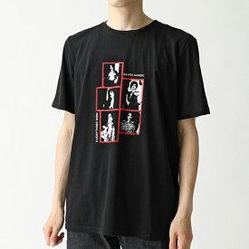 SAINT LAURENT サンローランパリ 559732 YBCO2 1049 クルーネック 半袖 Tシャツ カットソー メンズ