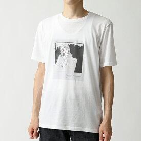 SAINT LAURENT サンローランパリ 551417 YBBH2 8486 クルーネック 半袖 Tシャツ カットソー メンズ