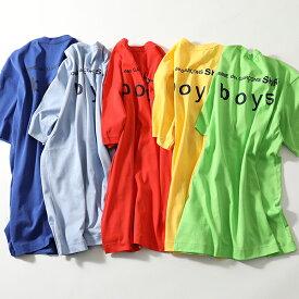 COMME DES GARCONS コムデギャルソン S27908 クルーネック 半袖 Tシャツ バックロゴ カットソー カラー5色 メンズ