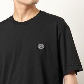 STONE ISLAND ストーンアイランド 701524113 クルーネック 半袖 Tシャツ アイコンパッチ カットソー V0029 メンズ