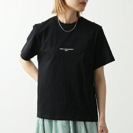 STELLA McCARTNEY ステラマッカートニー 511240 SMW21 1000 クルーネック 半袖 Tシャツ カットソー ちびロゴ レディース
