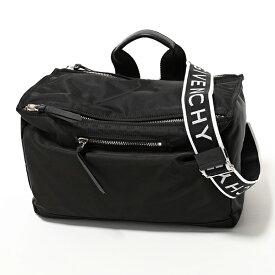 GIVENCHY ジバンシィ BK5006K0AX 001 PANDORA MESSENGER ナイロン メッセンジャーバッグ スクエア型 ショルダーバッグ BLACK 鞄 メンズ