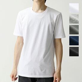 three dots スリードッツ クルーネック 半袖 Tシャツ ショートスリーブ カットソー 無地 BO1C 645 カラー5色 メンズ