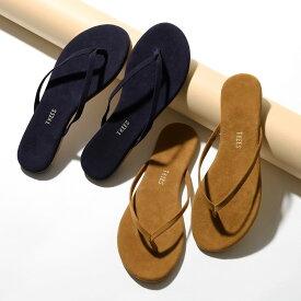 TKEES ティキーズ Liliy Suede スウェードレザー トングサンダル フラットサンダル リゾート カラー3色 靴 レディース