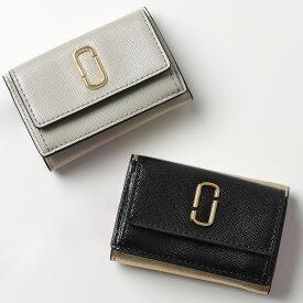 MARC JACOBS マークジェイコブス M0014492 カラー3色 レザー 三つ折り財布 ミニ財布 豆財布 レディース