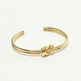 CELINE セリーヌ 46P446BRA.35OR Double Bracelet Knot ノット ダブル ブレスレット ブラス バングル Gold レディース