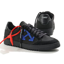 OFF-WHITE オフホワイト VIRGIL ABLOH OMIA042E19D68048 2.0 SNEAKER ローカット スニーカー キャンバスコンビ 1010/BLACK 靴 メンズ