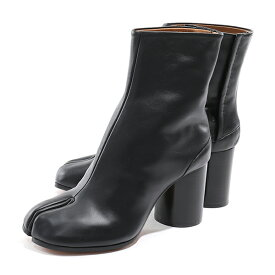 MAISON MARGIELA メゾンマルジェラ 22 S58WU0260 PR516 レザー 足袋 タビブーツ 7.5cmヒール ショートブーツ T8013 靴 レディース
