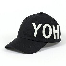 Y-3 ワイスリー adidas アディダス YOHJI YAMAMOTO コラボ FH9271 ベースボールキャップ 帽子 ロゴパッチ BLACK/NOIR メンズ