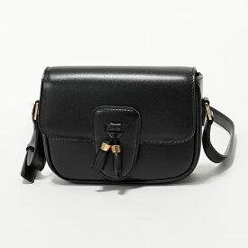 CELINE セリーヌ 190493BO8.38NO Small スモール タッセル レザー ショルダーバッグ ポシェット Black 鞄 レディース