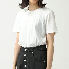 MM6 Maison Margiela エムエムシックス メゾンマルジェラ S32GC0531 S21058 クルーネック 半袖 Tシャツ カットソー 6刺繍 101 レディース