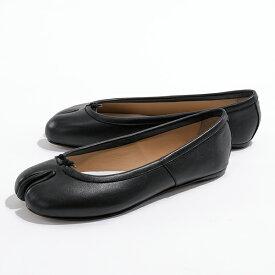 Maison Margiela メゾンマルジェラ 22 S58WZ0042 PR516 レザー 足袋 タビ パンプス フラット バレエシューズ T8013 靴 レディース