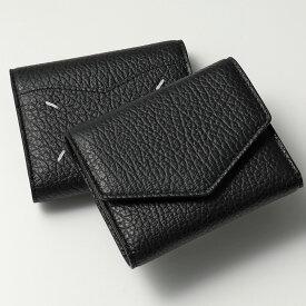 MAISON MARGIELA メゾンマルジェラ 11 S56UI0136 P0399 T8013 レザー 三つ折り財布 ミニ財布 豆財布 レディース