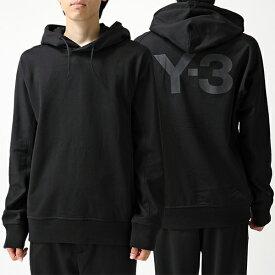 Y-3 ワイスリー adidas アディダス YOHJI YAMAMOTO FJ0354 U CL HOODIE スウェット トレーナー プルオーバー パーカー BLACK メンズ