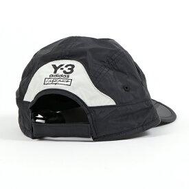 Y-3 ワイスリー adidas アディダス YOHJI YAMAMOTO FH9272 FOLDA CAP ナイロン ジェットキャップ 帽子 ロゴ刺繍 BLACK メンズ